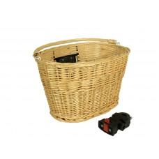 419dc7c3a286 Predný prútený košík s rcýhloupinákom